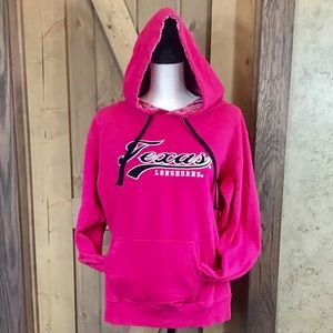 Stadium Hot Pink Texas Longhorns Hoody